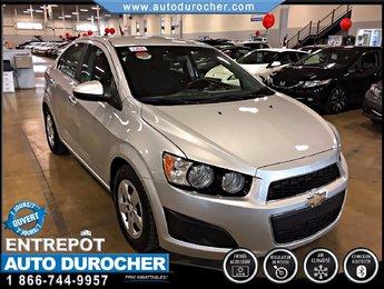 2012 Chevrolet Sonic LT AUTOMATIQUE TOUT ÉQUIPÉ AIR CLIMATISÉ