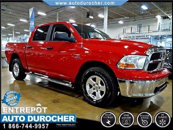 2010 Dodge RAM 1500 4X4 - CREW CAB - AUTOMATIQUE - V8 - AIR CLIMATISÉ
