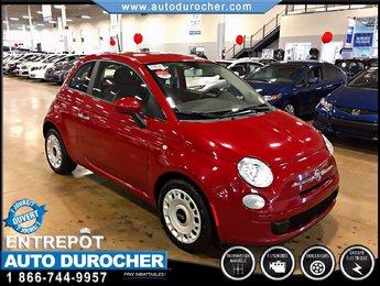 Fiat 500 Pop FINANCEMENT DISPONIBLE ÉCONOMIQUE 2012