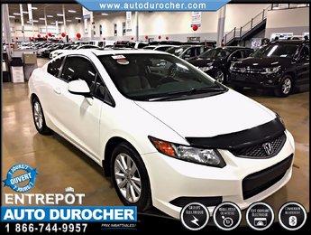 Honda Civic Cpe EX TOUT ÉQUIPÉ JANTES TOIT OUVRANT 2012