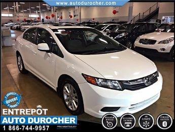Honda Civic Sdn EX TOUT ÉQUIPÉ JANTES TOIT BLUETOOTH 2012