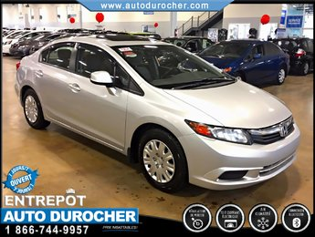 Honda Civic Sdn EX TOUT ÉQUIPÉ JANTES TOIT OUVRANT BLUETOOTH 2012