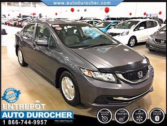 2014 Honda Civic Sedan LX TOUT ÉQUIPÉ JANTES SIÈGES CHAUFFANTS BLUETOOTH
