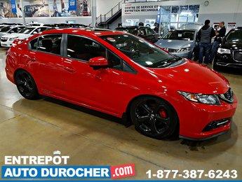 2015 Honda Civic Sedan Si - NAVIGATION - TOIT OUVRANT - CAMÉRA DE RECUL -