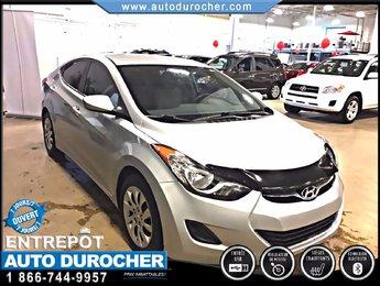 2012 Hyundai Elantra GL TOUT ÉQUIPÉ SIÈGES CHAUFFANTS BLUETOOTH