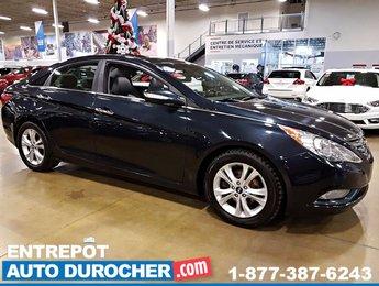 2011 Hyundai Sonata LIMITED , TOIT OUVRANT, SIÈGES EN CUIR