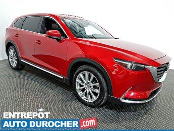2016 Mazda CX-9 GT 4X4 NAVIGATION - Toit Ouvrant - A/C - Cuir -