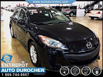 Mazda Mazda3 GS TOUT ÉQUIPÉ BLUETOOTH SIÈGES CHAUFFANTS 2012