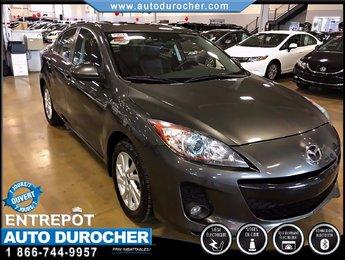 Mazda Mazda3 GS-SKY TOUT ÉQUIPÉ CUIR TOIT OUVRANT JANTES 2012