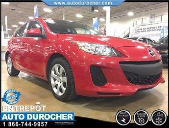 Mazda Mazda3 GX, AUTOMATIQUE, TOUT ÉQUIPÉ 2013