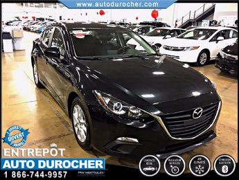 Mazda Mazda3 GS-SKY TOUT ÉQUIPÉ JANTES ÉCRAN CAMÉRA DE RECUL 2014