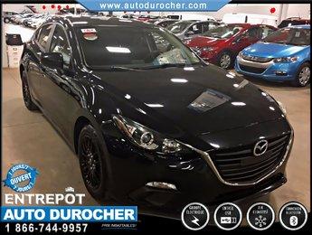 Mazda Mazda3 GX-SKY TOUT ÉQUIPÉ JANTES BLUETOOTH 2014
