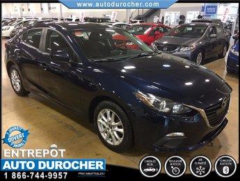 2014 Mazda Mazda3 GS-SKY AUTOMATIQUE, TOUT ÉQUIPÉ, CAMÉRA DE RECUL