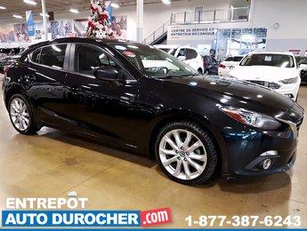 Mazda Mazda3 GT-SKY AUTOMATIQUE - NAVIGATION - TOIT OUVRANT 2014