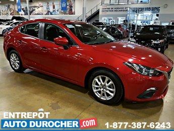 2016 Mazda Mazda3 GS Automatique, NAVIGATION - Caméra de Recul - A/C