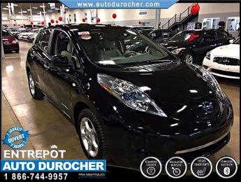 Nissan Leaf SV AUTOMATIQUE TOUT ÉQUIPÉ NAVIGATION BLUETOOTH 2012