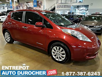 2013 Nissan Leaf Électrique - Charge Rapide - A/C - Caméra de Recul