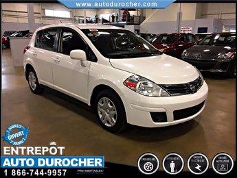 Nissan Versa ÉCONOMIQUE  FINANCEMENT DISPONIBLE AUX 2012