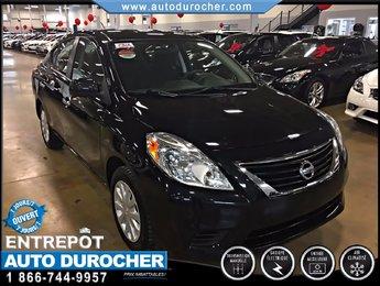 Nissan Versa 1.6 TOUT ÉQUIPÉ AIR CLIMATISÉ AUX 2013