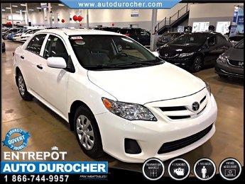 2012 Toyota Corolla BAS KILOMÈTRAGE FINANCEMENT DISPONIBLE