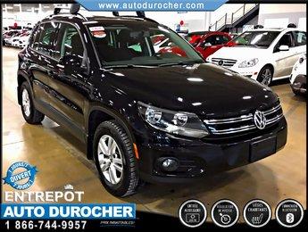 2014 Volkswagen Tiguan TRENDLINE TOUT ÉQUIPÉ BLUETOOTH SIÈGES CHAUFFANTS