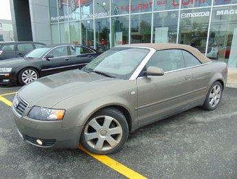 Audi A4 2005 1.8T AUTOMATIQUE CONVERTIBLE