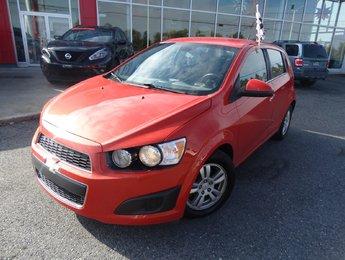 Chevrolet Sonic 2012 LT/AUTOMATIQUE/BLUETOOTH/JANTES EN ALLIAGE/
