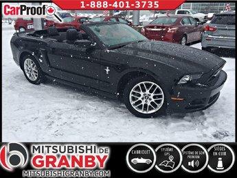 Ford Mustang 2014 V6 PREMIUM, CONVERTIBLE, CUIR, GPS * 59$/SEM