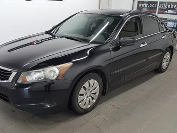 Honda Accord Sedan 2010 LX, prix liquidé, bel état