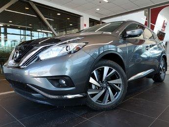Nissan Murano 2017 PLATINUM AWD CUIR TOIT PANO GPS CAMÉRA 360 MAGS 20
