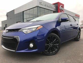 Toyota Corolla 2016 S CAMÉRA DE RECUL SIÈGES CHAUFFANTS TOIT OUVRANT