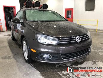 Volkswagen Eos 2013 COMFORTLINE- CONVERTIBLE- CUIR- JAMAIS ACCIDENTÉ!