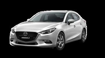 Mazda 3 GX 2017 Snowflake White Pearl