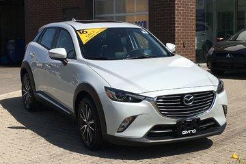 2016 Mazda CX-3 GT AWD **Bi-Weekly Payment $242.58**