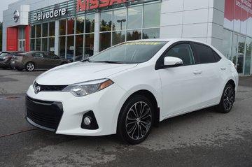 Toyota Corolla S AUTOMATIQUE TOIT OUVRANT CAMERA DE RECUL 2014