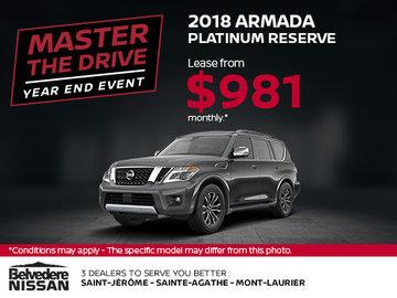 Save on the 2018 Armada!