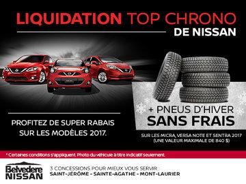 Liquidation Top Chrono de Nissan