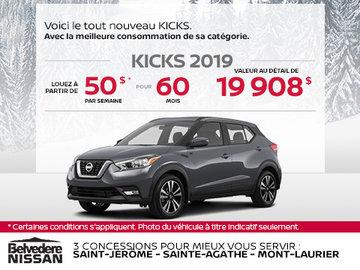 Le Nissan Kicks 2019