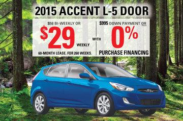 2015 Accent L 5-door