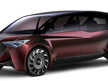 Toyota Launches 'Fine-Comfort Ride' Concept Vehicle