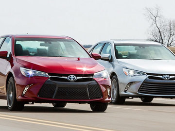 Toyota Camry, new style