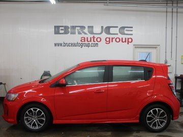 2017 Chevrolet Sonic RS LT 1.4L 4 CYL TURBO AUTOMATIC FWD 5D HATCHBACK