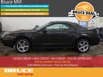 2000 Ford Mustang GT 4.6L 8 CYL 5 SPD MANUAL RWD 2D CONVERTIBLE