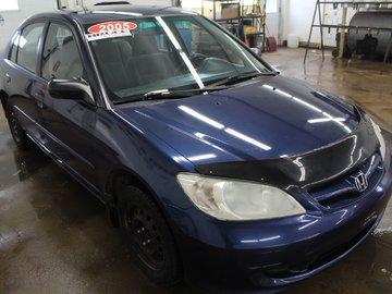 2005 Honda Civic SE 1.7L 4 CYL 5 SPD MANUAL FWD 4D SEDAN