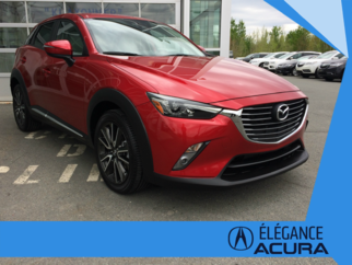 2016 Mazda CX-3 GT, AWD, GPS, CUIR, TOIT