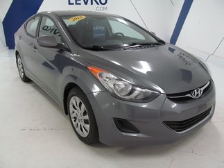 Hyundai Elantra GL **BLUETOOTH +A/C+ MANUELLE** 2012