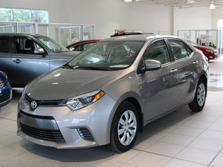 Toyota Corolla LE RCAM 2015