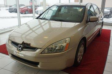 Honda Accord Sdn LX-A/C-GR.ELECT-MAG-REGULATEUR DE VITESSE 2003