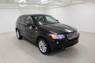 BMW X3 35i + GARANTIE 200 000KM + CAMERA 360 + TOIT PANO 2013