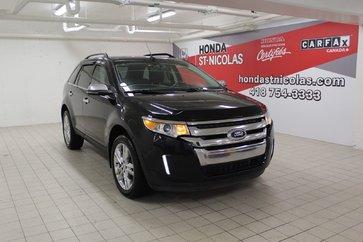 2014 Ford Edge Limited + GPS + TOIT PANO + CUIR + SIÈGE MÉMOIRE
